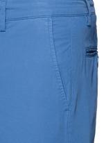 Cotton twill Bermuda shorts