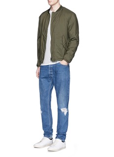 RE/DONE'Destruction' distressed jeans