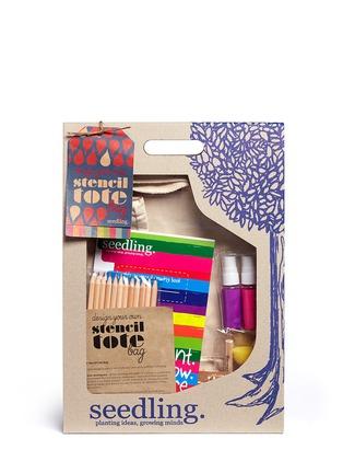 Seedling-Stencil Art Tote Bag Kit