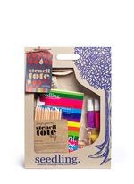 Stencil Art Tote Bag Kit