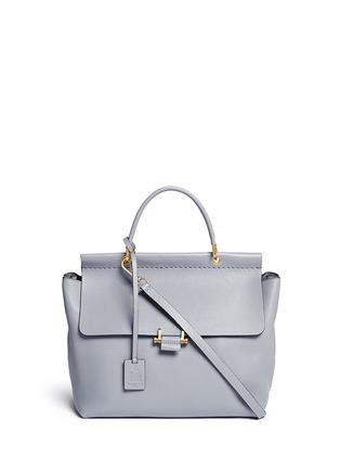 Main View - Click To Enlarge - Lanvin - 'Essential' leather flap shoulder bag