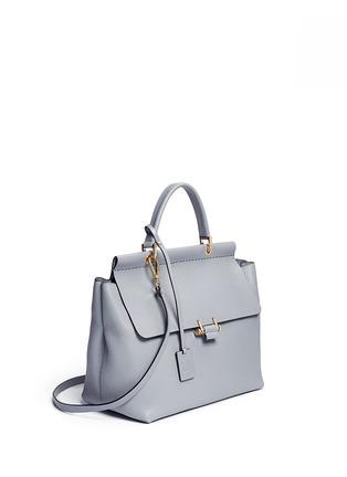 Figure View - Click To Enlarge - Lanvin - 'Essential' leather flap shoulder bag
