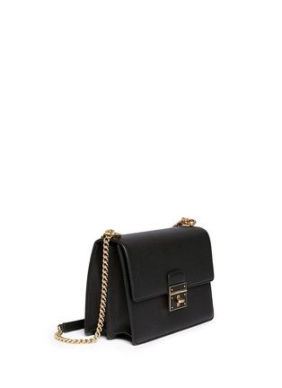 Figure View - Click To Enlarge - Dolce & Gabbana - 'Rosalia' medium leather shoulder bag