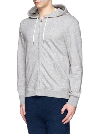 rag & bone - 'Standard Issue' cotton terry zip hoodie