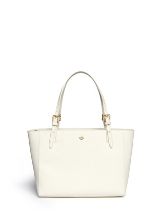 Main View - Click To Enlarge - Tory Burch - 'York' small leather buckle tote