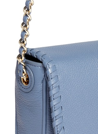 Detail View - Click To Enlarge - Tory Burch - 'Marion' mini leather crossbody bag