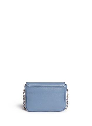 Back View - Click To Enlarge - Tory Burch - 'Marion' mini leather crossbody bag