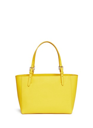 Back View - Click To Enlarge - Tory Burch - 'York' small leather buckle tote