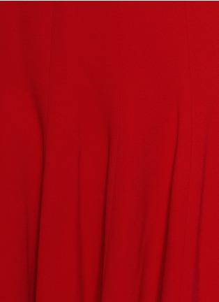 细节 - 点击放大 - DOLCE & GABBANA - 纯色高腰喇叭短裙