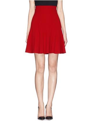 首图 - 点击放大 - DOLCE & GABBANA - 纯色高腰喇叭短裙