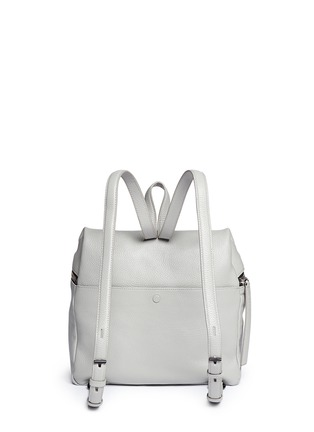 Back View - Click To Enlarge - Kara - Leather backpack