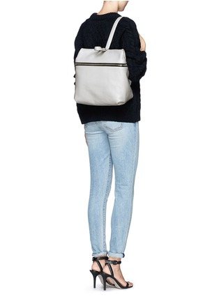 Figure View - Click To Enlarge - Kara - Leather backpack