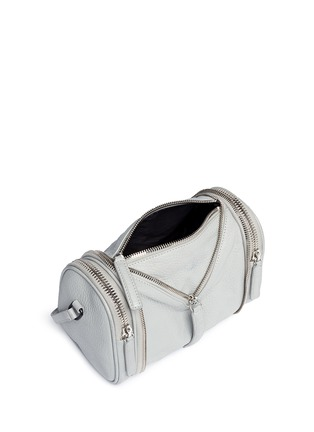 Detail View - Click To Enlarge - Kara - 'Double Date' convertible leather crossbody bag