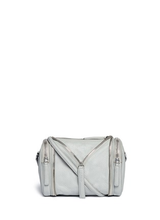 Main View - Click To Enlarge - Kara - 'Double Date' convertible leather crossbody bag