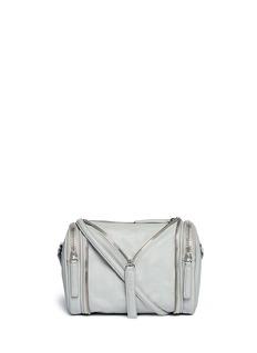 KARA'Double Date' convertible leather crossbody bag