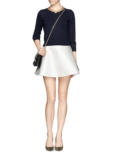 J. CREWCotton cropped sweater