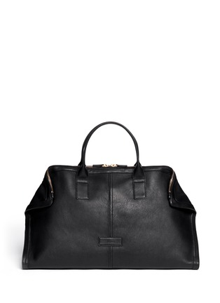 Main View - Click To Enlarge - Alexander McQueen - Leather manta carryall bag