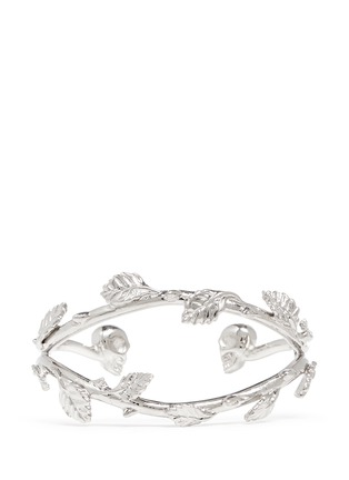 Main View - Click To Enlarge - Alexander McQueen - Skull vine cuff