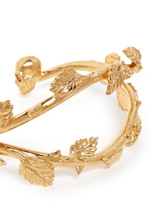 Detail View - Click To Enlarge - Alexander McQueen - Skull vine cuff