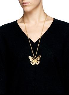 ALEXANDER MCQUEENButterfly skull necklace