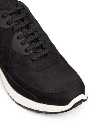 Detail View - Click To Enlarge - Neil Barrett - 'Urban runner' nubuck leather sneakers