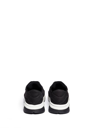 Back View - Click To Enlarge - Neil Barrett - 'Urban runner' nubuck leather sneakers