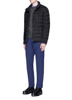 Moncler GrenoblePintucked fleece lined pants
