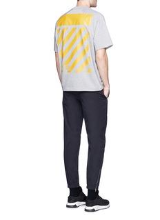 MONCLER CAPSULEMAGLIA条纹拼贴纯棉T恤