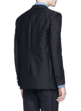 Back View - Click To Enlarge - Saint Laurent - Palm tree sequin wool-Mohair blazer