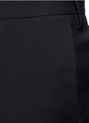 Detail View - Click To Enlarge - Saint Laurent - Virgin wool gabardine pants