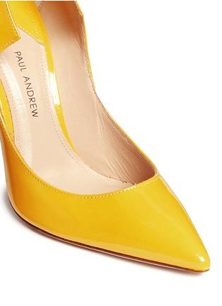 细节 - 点击放大 - PAUL ANDREW - 弧形设计漆皮高跟鞋