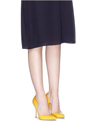 模特儿示范图 - 点击放大 - PAUL ANDREW - 弧形设计漆皮高跟鞋