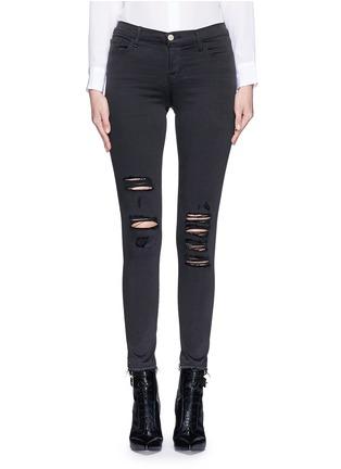 细节 - 点击放大 - J BRAND - 'Photo Ready Skinny Leg' distressed jeans