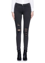 'Photo Ready Skinny Leg' distressed jeans