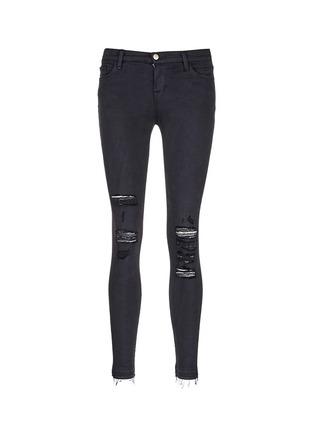 首图 - 点击放大 - J BRAND - 'Photo Ready Skinny Leg' distressed jeans