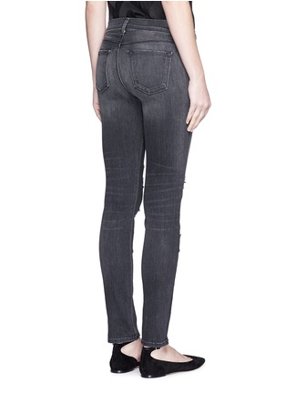 Back View - Click To Enlarge - J Brand - 'Skinny Leg' mid rise close cut jeans