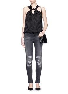 J BRAND'Skinny Leg' mid rise close cut jeans
