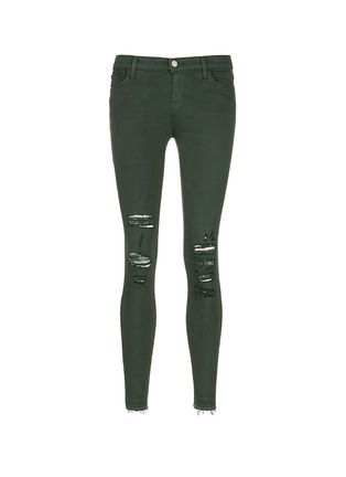 Main View - Click To Enlarge - J Brand - 'Photo Ready Skinny Leg' distressed jeans