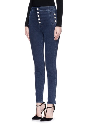 Front View - Click To Enlarge - J Brand - 'Natasha Sky High' high waist skinny jeans
