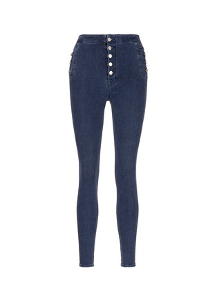 Main View - Click To Enlarge - J Brand - 'Natasha Sky High' high waist skinny jeans