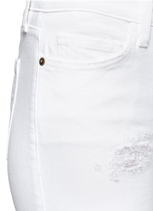 Current/Elliott-'The Stiletto' distressed skinny jeans