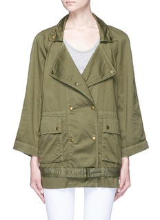 Current/Elliott 'Infantry' twill jacket