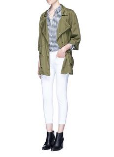 Current/Elliott'Infantry' twill jacket