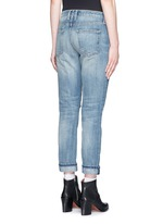 'The Fling' distressed cropped jeans