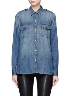 Current/Elliott'The Perfect Shirt' cotton denim shirt