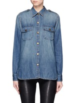 'The Perfect Shirt' cotton denim shirt