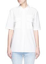 'Short Sleeve Major' poplin shirt