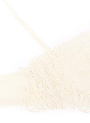 Detail View - Click To Enlarge - La Perla - 'Petite Macramé' lace underwired bandeau bra