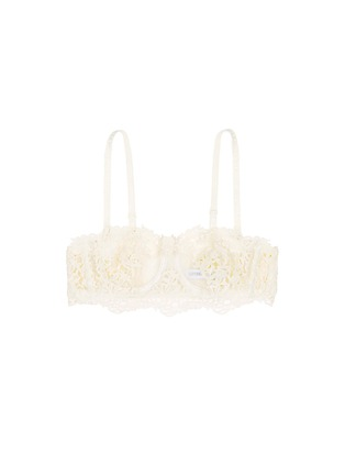 Main View - Click To Enlarge - La Perla - 'Petite Macramé' lace underwired bandeau bra