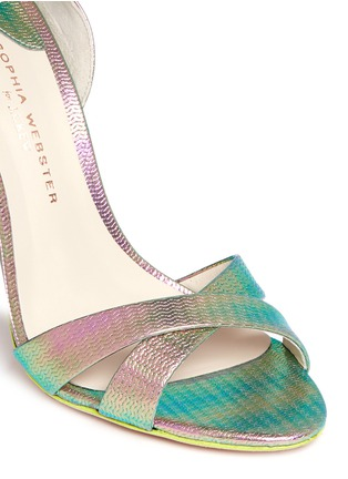 Detail View - Click To Enlarge - J.CREW - Sophia Webster™ for J.CREW Nicole heels